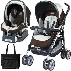 Peg Perego 2011 Pliko P3 Travel System with a Diaper Bag - Java