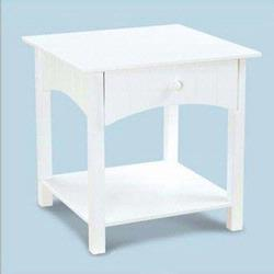 KidKraft 86624 Nantucket Toddler Table, White