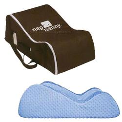 Nap Nanny N1000BLUEKT Blue with Chocolate Travel Bag