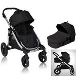 Baby Jogger 81260KIT1, City Select Stroller with Bassinet - Onyx