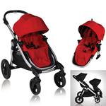 Baby Jogger 81263KIT2, City Select Stroller with Second Seat - Ruby
