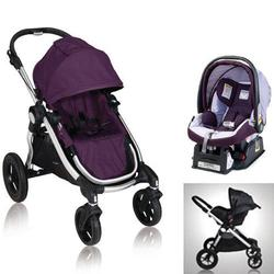 baby jogger 81268kit3 2011 city select stroller with car seat amethyst coupons and. Black Bedroom Furniture Sets. Home Design Ideas