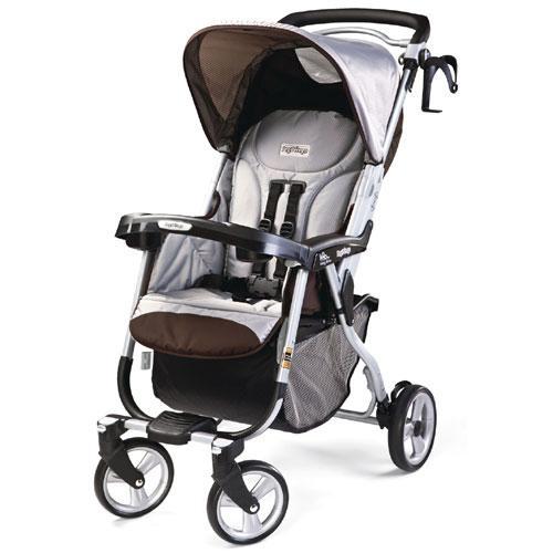 Peg Perego Vela Easy Drive Stroller Java 888487015331 Ebay