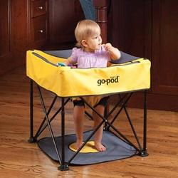 KidCo P7000, Go-Pod Portable Activity Seat - Quick Silver