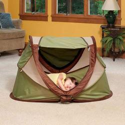 KidCo P204, PeaPod Plus Travel Bed in Sagebrush