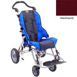 Convaid CX10 903314-903852 Cruiser Cordura 30 Degree Fixed Tilt Wheelchair - Deep Burgundy