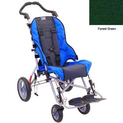 Convaid CX10 903314-903857 Cruiser Cordura 30 Degree Fixed Tilt Wheelchair - Forest Green