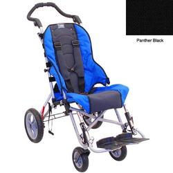 Convaid CX10 903314-903854 Cruiser Cordura 30 Degree Fixed Tilt Wheelchair - Panther Black
