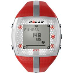 Polar FT7F 90039172 Heart Rate Monitor - Red/Silver