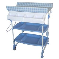 Baby Diego BB060-2 Baby Bath and Changing Table Sleek - Blue