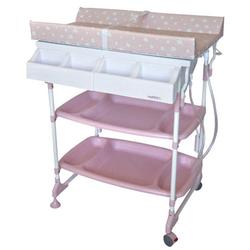 Baby Diego BB060-5 Baby Bath and Changing Table Sleek - Pink