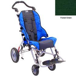 Convaid CX12 902845-903857 Cruiser Cordura 30 Degree Fixed Tilt Wheelchair - Forest Green