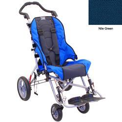 Convaid CX12 902845-903856 Cruiser Cordura 30 Degree Fixed Tilt Wheelchair - Nile Green
