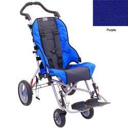 Convaid CX14 900490-903851 Cruiser Cordura 30 Degree Fixed Tilt Wheelchair - Purple