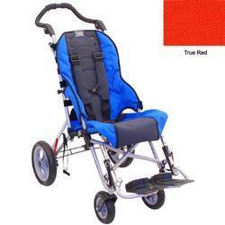 Convaid CX16 900145-903855 Cruiser Cordura 30 Degree Fixed Tilt Wheelchair - True Red