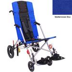 Convaid CX18 902594-903850 Cruiser Cordura 30 Degree Fixed Tilt Wheelchair Stroller - Mediterranean Blue