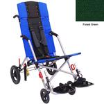 Convaid CX18 902594-903857 Cruiser Cordura 30 Degree Fixed Tilt Wheelchair Stroller - Forest Green