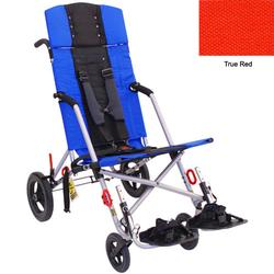 Convaid CX18 902594-903855 Cruiser Cordura 30 Degree Fixed Tilt Wheelchair Stroller - True Red