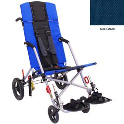 Convaid CX18 902594-903856 Cruiser Cordura 30 Degree Fixed Tilt Wheelchair Stroller - Nile Green