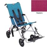 Convaid CX12 902845-903467 Cruiser Textilene 30 Degree Fixed Tilt Wheelchair Stroller - Raspberry