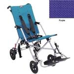 Convaid CX14 900490-903465 Cruiser Textilene 30 Degree Fixed Tilt Wheelchair Stroller - Purple