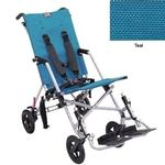 Convaid CX14 900490-903466 Cruiser Textilene 30 Degree Fixed Tilt Wheelchair Stroller - Teal