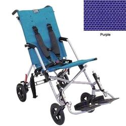 Convaid CX18 902594-903465 Cruiser Textilene 30 Degree Fixed Tilt Wheelchair Stroller - Purple