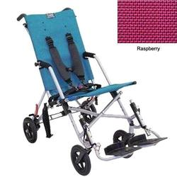 Convaid CX18 902594-903467 Cruiser Textilene 30 Degree Fixed Tilt Wheelchair Stroller - Raspberry