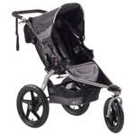 BOB ST1023, Revolution SE Single Stroller with Diaper Bag - Black