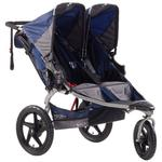 BOB ST1041, Revolution SE Duallie Stroller with Diaper Bag - Navy