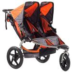 BOB ST1042, Revolution SE Duallie Stroller - Orange