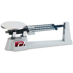 Ohaus 750-SW Mechanical Triple Beam Balance Scale with Stainless Steel Plate Weigh Pan, Capacity: 2,610 grams x 0.1 gram