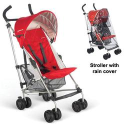 UPPAbaby 0067DNYKIT1, Denny G-LiTE Stroller with Rain cover - Red