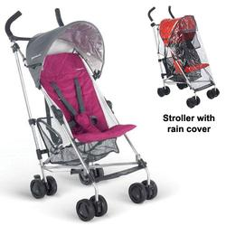 UPPAbaby 0067MKNKIT1, Makena G-LiTE Stroller with Rain cover - Magenta