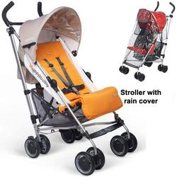 UPPAbaby Ani G-LUXE Stroller with Rain cover - Orange
