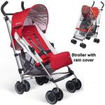 UPPAbaby Denny G-LUXE Stroller with Rain cover - Red