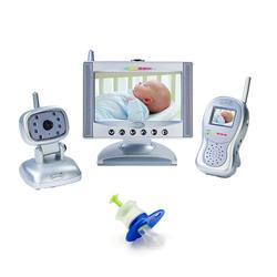 Summer Infant 02720KIT1, Complete Coverage Color Video Monitor Set with Medicine Dispenser