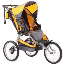 BOB ST1006, Ironman Single Stroller with Diaper Bag - Yellow