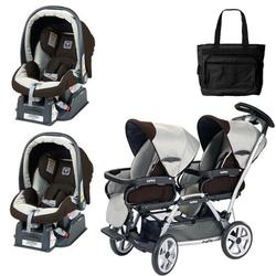 Twin Strollers With Car Seat - Seat