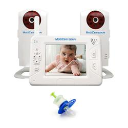 Mobi 70204KIT1, Mobicam Digital DXR Wireless Audio/Video Monitoring System with an Extra Camera and Medicine Dispenser