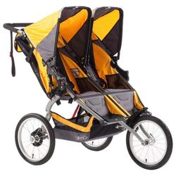 BOB ST1016, Ironman Duallie with Diaper Bag - Yellow