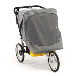 BOB WS1027, Sun Shield for Duallie Sport Utility Stroller/Ironman Models, Gray
