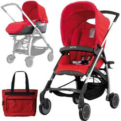 Inglesina AG54REDKIT1, AVIO Stroller Travel System in Red