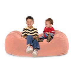JAXX KIDS 11641353, JAXX LOUNGER JR - MICROSUEDE BUBBLEGUM