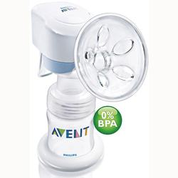 Avent SCF312/01, BPA Free Single Electric Breast Pump, White