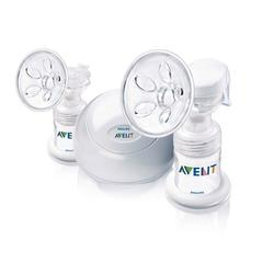 Avent SCF314/02, BPA Free Twin Electric Breast Pump, White