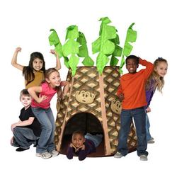 Bazoongi Kids PS-PMT, Palmtree Monkey Hut Play Structure