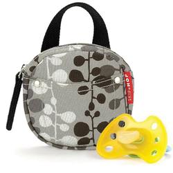 Skip Hop 500029 Pacifier Pocket - Willow Charcoal