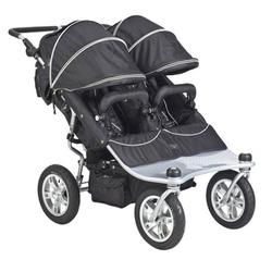 Valco Baby TRU1056, Twin Tri Mode Strollers - Raven
