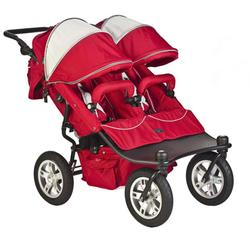 Valco Baby TRU1055, Twin Tri Mode Strollers - Candy Apple